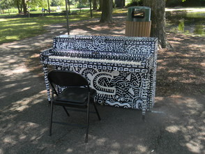 The piano at Meadowland Park