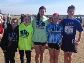 Westfield Flyers' XC National team