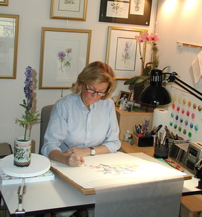 Award-Winning Botanical Artist Exhibits Her Work at Trailside Nature & Science Center, photo 1