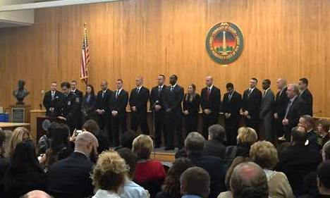 15 Police Officers 4 Firefighters Join The Ranks In Edison News Tapinto