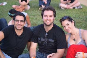 Pictured (L-R)Daniel Niku, Luis Dominguez,Chelsea Flippo