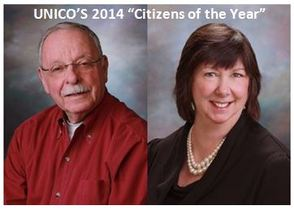 "UNICO'S 2014 ""Citizens of the Year"""