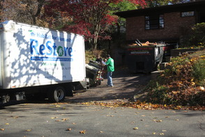ReStore Truck Picks Up Appliances for ReSale