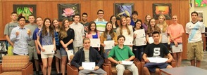 Sparta High School Recognized Underclassmen Academic Achievement