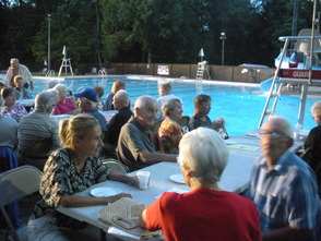 Senior Pool Party