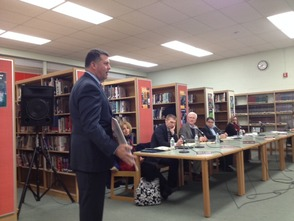 Vogel Honored at New Providence Board of Education Meeting , photo 3