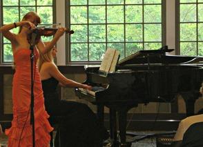 Karkowska Sisters Perform at the Livingston Library, photo 1