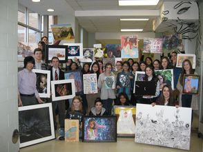 Millburn Township Students Win 79 Scholastic Visual Art Awards, photo 1