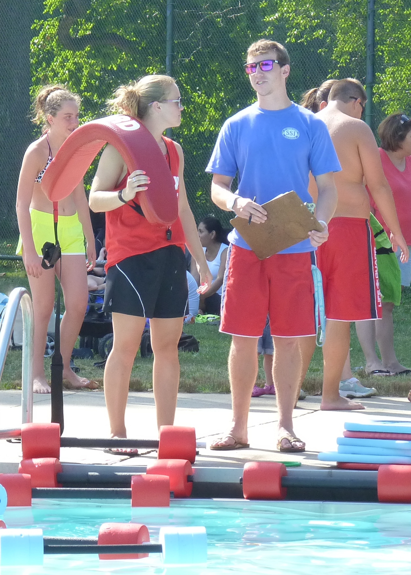 Lifeguard jobs are available at union county public Swimming pool lifeguard requirements