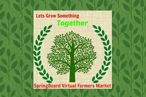 SpringBoard Virtual Farmers Market: Icon & Logo