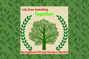 SpringBoard Virtual Farmers Market: Icon & Logo