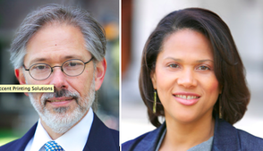 David Giles and Stephanie Lawson-Muhammad