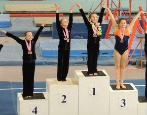 Morgyn Witt takes 3rd Place for her Balance Beam routine.