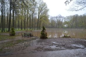 Green Brook Park Waters Recede