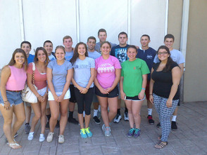 Members of the Crusader Athletic Leadership Council