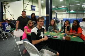 Blackjack/Texas Hold-Em FUN at Project Graduation 2014