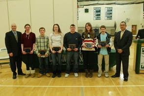 LHS Presents Athlete of the Month Awards