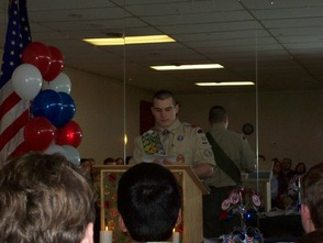 C.J. Scalera Earns The Honor of Eagle Scout , photo 3