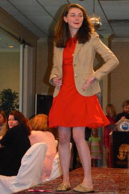Joanna Naugle, a 2012 scholarship recipient