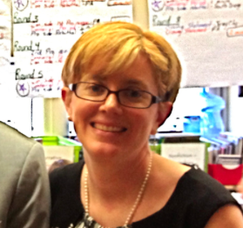 SOMS librarian and media specialist, Elissa Malespina