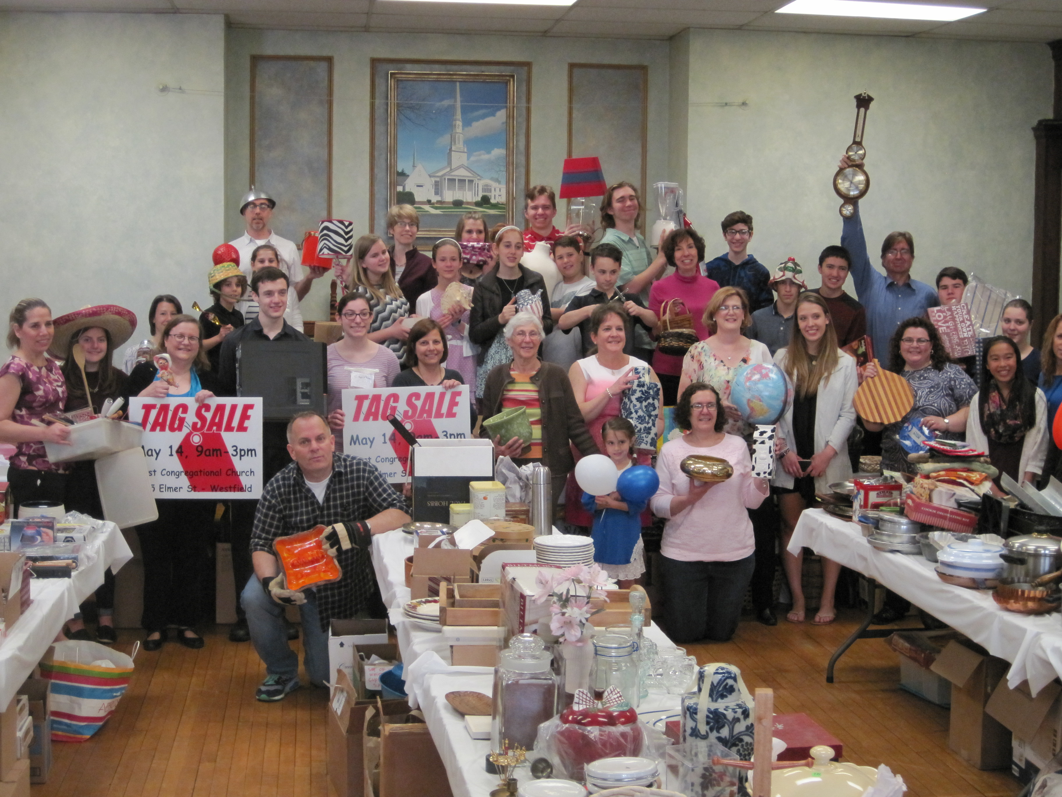 Final Tag Sale at First Congregational Church of Westfield
