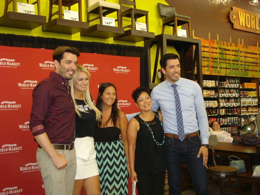 Property Brothers Make Appearance At Cost Plus World Market Opening Livings