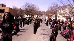 East Orange Unified Marching Band in West Orange St. Patrick Parade, photo 1