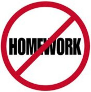 Homework Free Night, Monday, March 17