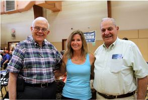 Joe Tempesta, Kathy Canale and Michael Docteroff