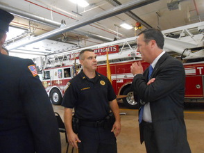 Sen. Cory Booker and Rep. Leonard Lance Visit Berkeley Heights To Present $185,360 Federal Grant For Firefighter Assistance, photo 18