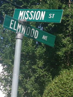 Mission Street in Montclair Sign