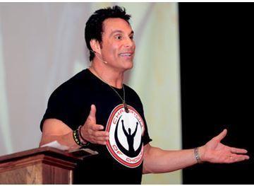 Professional Wrestler and Speaker Tells West Essex High School Students to 'Dream Big'