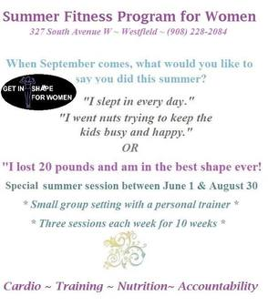 Ladies: Here's Your Chance to Jump Start Your Weight Loss and Fitness Training, photo 1