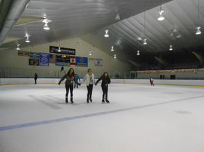 Community Enjoys Gov. Livingston Varsity Hockey Holiday Skate , photo 8