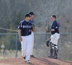Sparta High School Baseball Beats Pope John