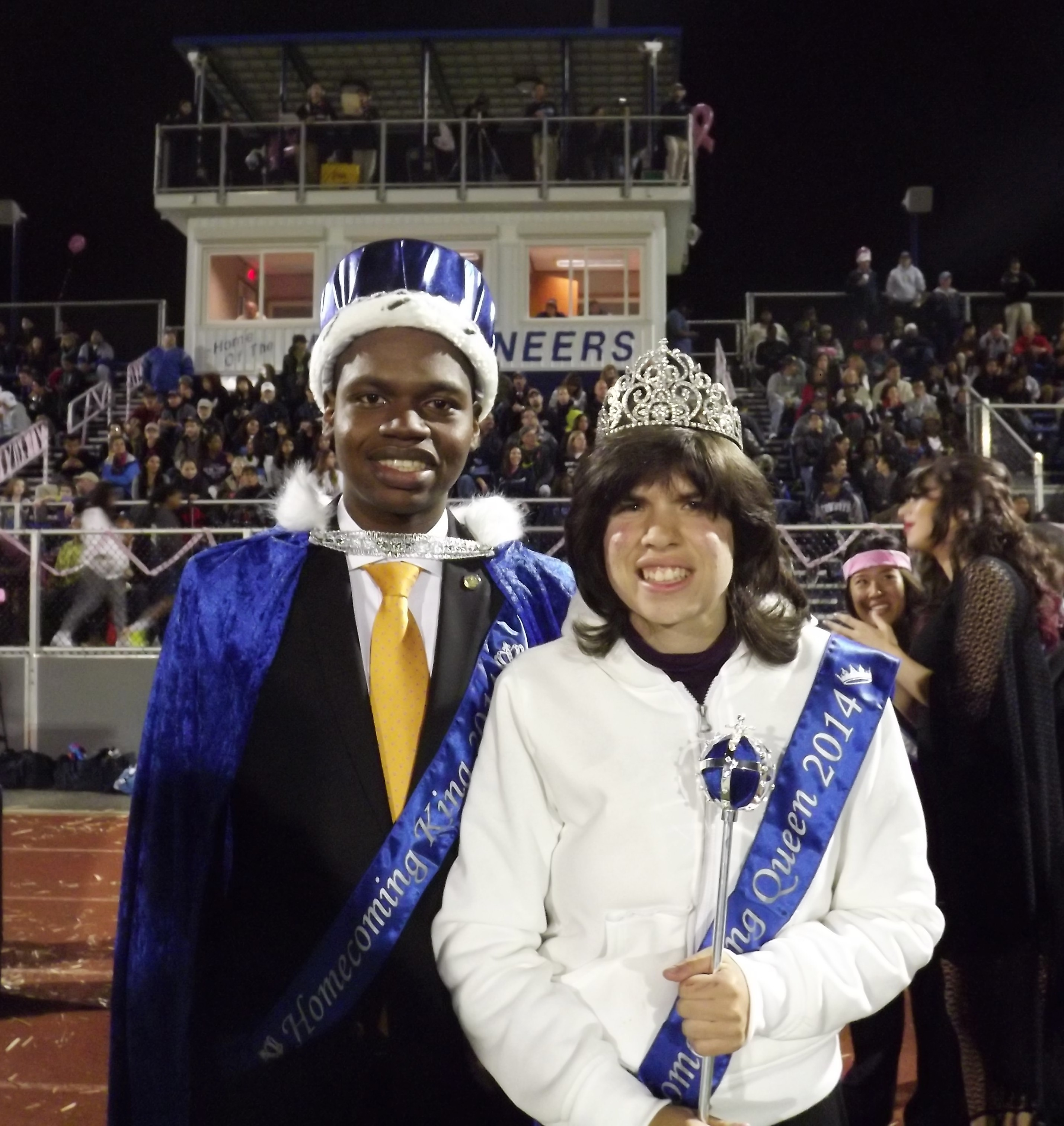 west orange high school crowns 2014 homecoming king and