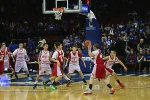 7th Grade Travel Basketball Team Plays at Seton Hall University Game, photo 5
