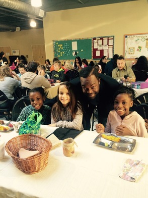 Unity Charter School Brings Parents to Lunch, photo 4