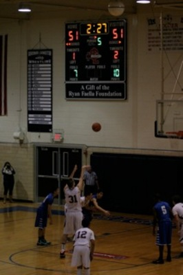 Scotch Plains-Fanwood Edges Gov. Livingston at Buzzer, 55-53, in Boys Hoops, photo 4