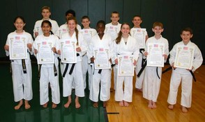 Martial Arts for Life's Newest Black Belts