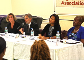 South Orange-Maplewood Board of Education Candidates Meet in Forum, photo 1