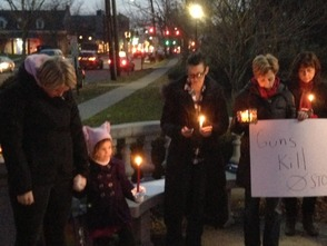 Westfield Vigil For Newtown