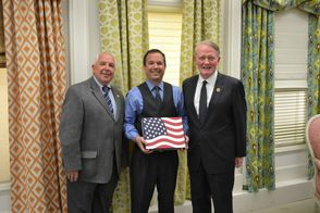 Congressman Lance and Mayor Giordano