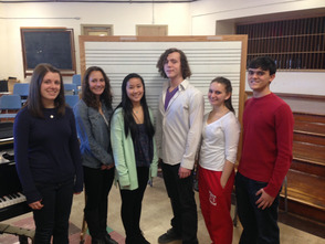 Six Westfield High School Students Selected for All State Music Groups, photo 1