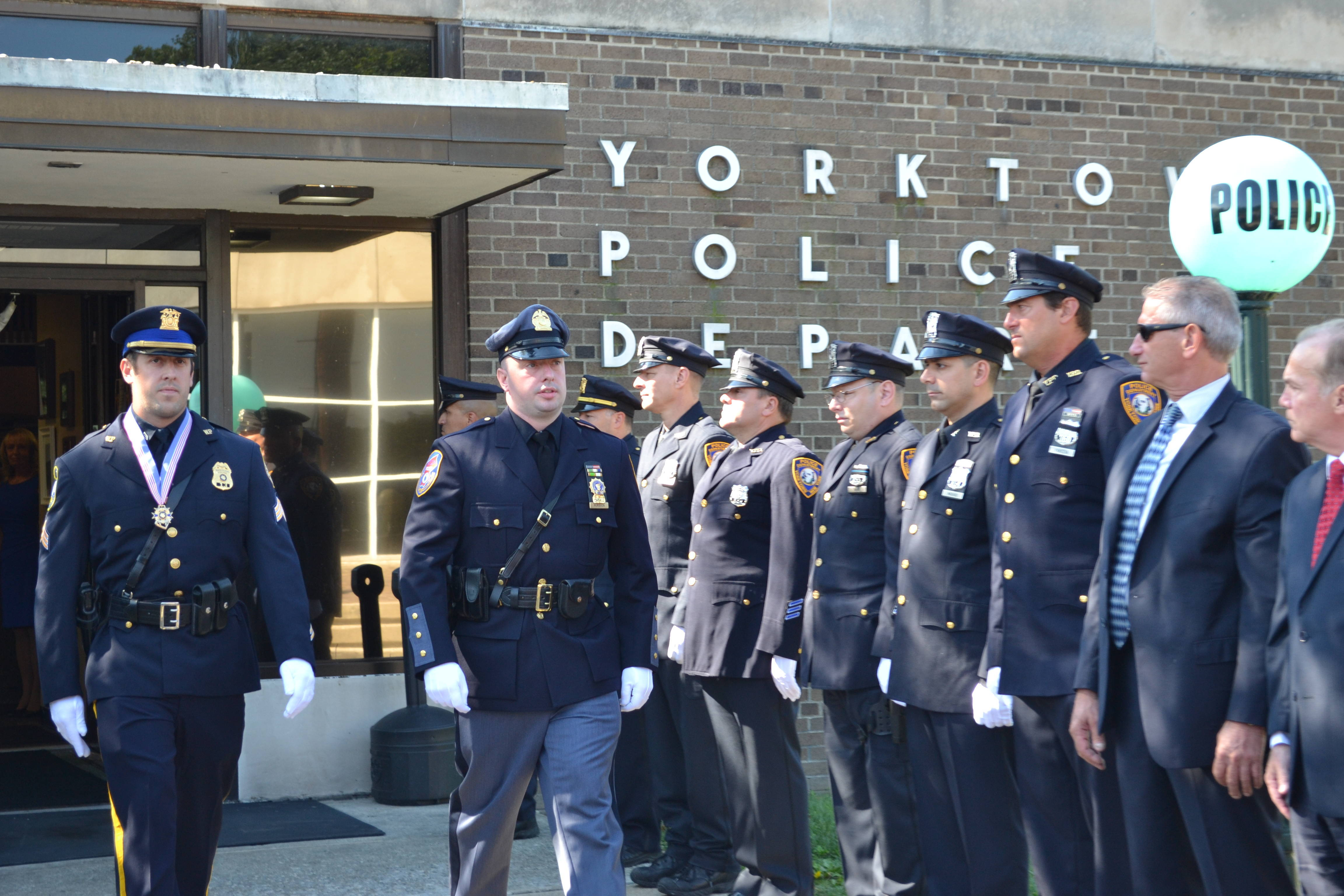 chief mcmahon retires after 35 years with yorktown police