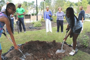 Roselle Community Joins Dr. Polk Family and Plants Time Capsule, photo 30