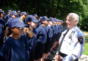 Sheriff Froehlich hosted the Union County Sheriff's Youth Academy for students to acquire firsthand knowledge about law enforcement