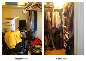 Closet - Before/After