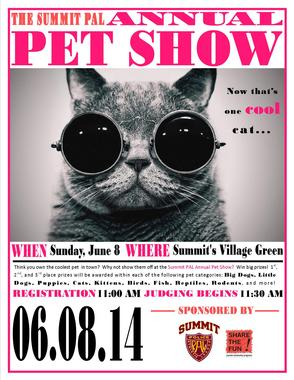 PAL Pet Show Slated for June 8, photo 1