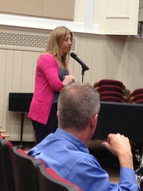 Chani Levine, Parent and 5th Grade Teacher at Hillside School Addresses the BOE on Technology